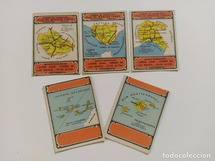 Coleccionismo Cromos antiguos: MAPAS PROVINCIAS ESPAÑOLAS-COLECCION DE 50 CROMOS-PUBLICIDAD VARIOS CHOCOLATES-VER FOTOS-(V-18.842) - Foto 7 - 192587285