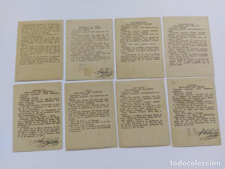 Coleccionismo Cromos antiguos: MAPAS PROVINCIAS ESPAÑOLAS-COLECCION DE 50 CROMOS-PUBLICIDAD VARIOS CHOCOLATES-VER FOTOS-(V-18.842) - Foto 8 - 192587285