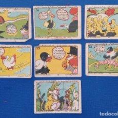 Coleccionismo Cromos antiguos: LOTE DE 9 CROMOS CHOCOLATES RECORD ALCAZAR DE SAN JUAN CIUDAD REAL. Lote 192808000