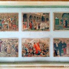 Coleccionismo Cromos antiguos: ANTIGUOS CROMOS CELTA HISTORIA DE ESPAÑA (AÑOS 40). Lote 194058475