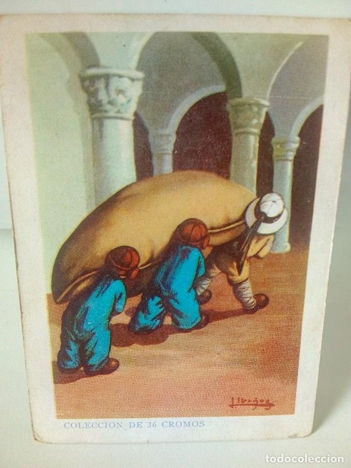 Coleccionismo Cromos antiguos: AVENTURAS DE PAQUITO Y CARBONILLA.- 13 CROMOS. - Foto 12 - 194059780