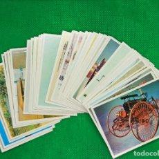 Coleccionismo Cromos antiguos: LOTE DE 57 CROMOS DE COCHES ANTIGUOS CIGARRILLOS CUMBRE SE VENDEN SUELTOS . Lote 194084083