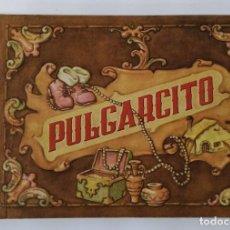 Coleccionismo Cromos antiguos: ALBUM CROMOS PULGARCITO EDICIÓN LUJO AÑOS 40. COMPLETO. Lote 194223952