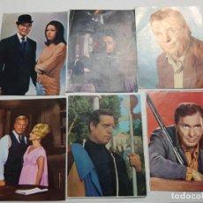 Coleccionismo Cromos antiguos: LOTE 28 CROMOS ROSTROS POPULARES TV AÑO 1968. Lote 194240477