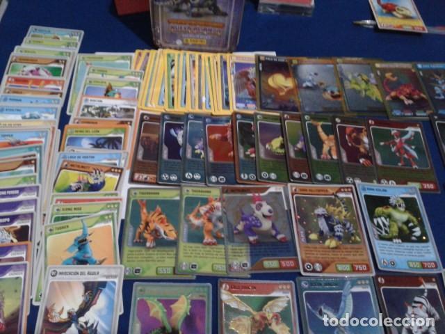Coleccionismo Cromos antiguos: LOTE 100 CROMOS ( 76 DE INVIZIMALS DESAFIOS OCULTOS 2009/2013 Y 24 DE 2016 trading card )+ - Foto 3 - 194240671