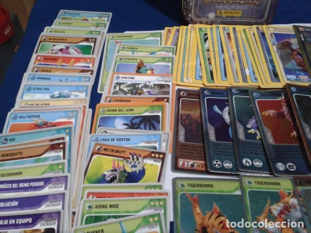 Coleccionismo Cromos antiguos: LOTE 100 CROMOS ( 76 DE INVIZIMALS DESAFIOS OCULTOS 2009/2013 Y 24 DE 2016 trading card )+ - Foto 6 - 194240671
