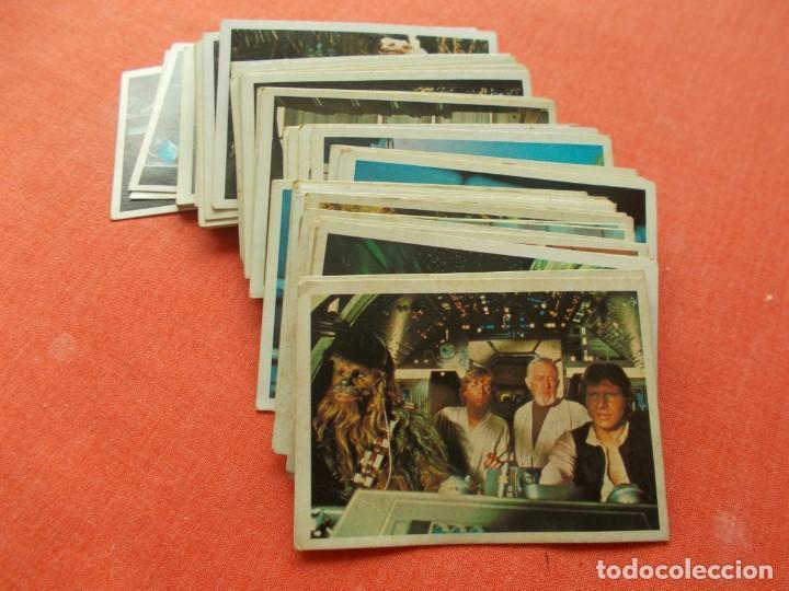 PACOSA DOS --RETORNO JEDI LOTE 58 CROMOS SIN PEGAR 16 REPETIDOS (Coleccionismo - Cromos y Álbumes - Cromos Antiguos)