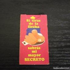 Coleccionismo Cromos antiguos: -BOLLYCAO MENSAJES 1986 : SI TIRAS DE LA FLECHA SABRAS MI MEJOR SECRETO. Lote 194251878