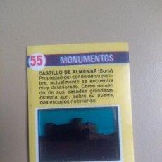 Coleccionismo Cromos antiguos: BIMBOVISION 1 MONUMENTOS Nº 55. Lote 194294712
