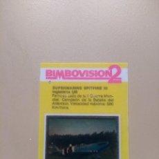 Coleccionismo Cromos antiguos: BIMBOVISION 2 AVIONES Nº 10. Lote 194301302