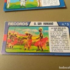 Coleccionismo Cromos antiguos: BIMBO RECORDS Nº 5. Lote 194302731