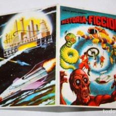 Coleccionismo Cromos antiguos: HISTORIA FICCIÓN - VALE DE DESCUENTO DE 5 PTA. CON CROMO NÚM. 198 / 199 INCLUIDO - 1980 - ED. MAGA. Lote 194310432