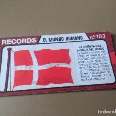 Coleccionismo Cromos antiguos: BIMBO RECORDS Nº 103. Lote 194317552