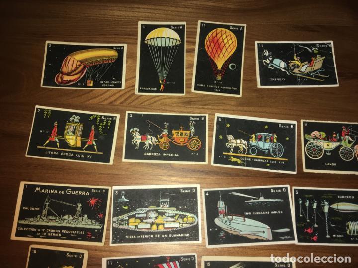 Coleccionismo Cromos antiguos: Chocolates Eduardo Pi Barcelona 33 cromos. fotos, ver series - Foto 2 - 194357202