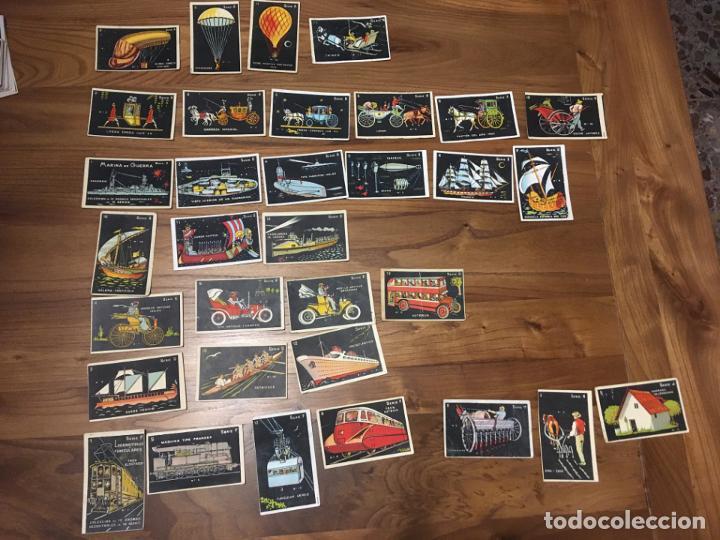CHOCOLATES EDUARDO PI BARCELONA 33 CROMOS. FOTOS, VER SERIES (Coleccionismo - Cromos y Álbumes - Cromos Antiguos)