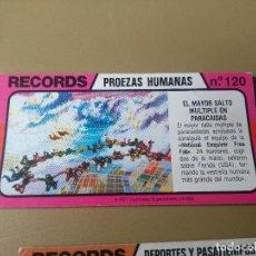 Coleccionismo Cromos antiguos: BIMBO RECORDS Nº 120. Lote 194379878