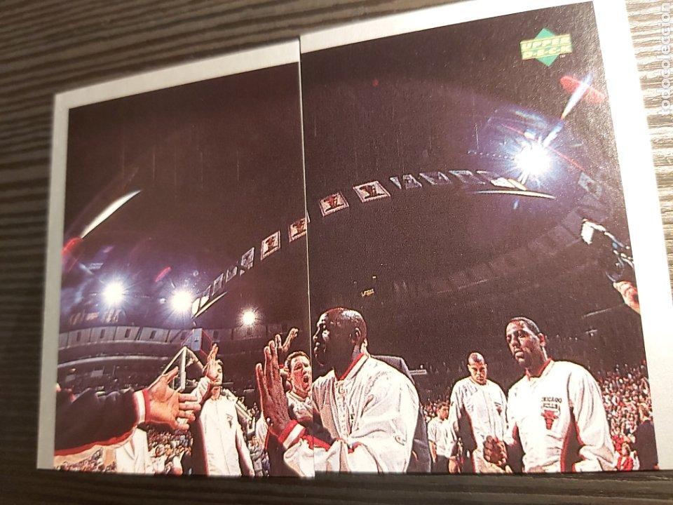 CROMOS STICKER NBA MICHAEL JORDAN #69-70 (Coleccionismo - Cromos y Álbumes - Cromos Antiguos)