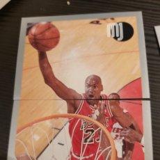 Coleccionismo Cromos antiguos: CROMOS STICKER NBA MICHAEL JORDAN #101-102. Lote 194531547