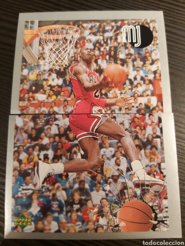 CROMOS STICKER NBA MICHAEL JORDAN #94-95 (Coleccionismo - Cromos y Álbumes - Cromos Antiguos)