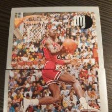 Coleccionismo Cromos antiguos: CROMOS STICKER NBA MICHAEL JORDAN #94-95. Lote 194531656