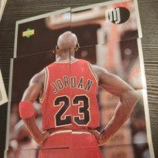 Coleccionismo Cromos antiguos: CROMOS STICKER NBA MICHAEL JORDAN #131-138. Lote 194531766