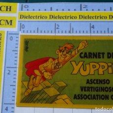 Coleccionismo Cromos antiguos: CROMO CROMITO DE CHUCHERÍAS DULCES CHOCOLATINAS. BOLLYCAO. BOLLY CARNET. YUPPIE. Lote 194538981