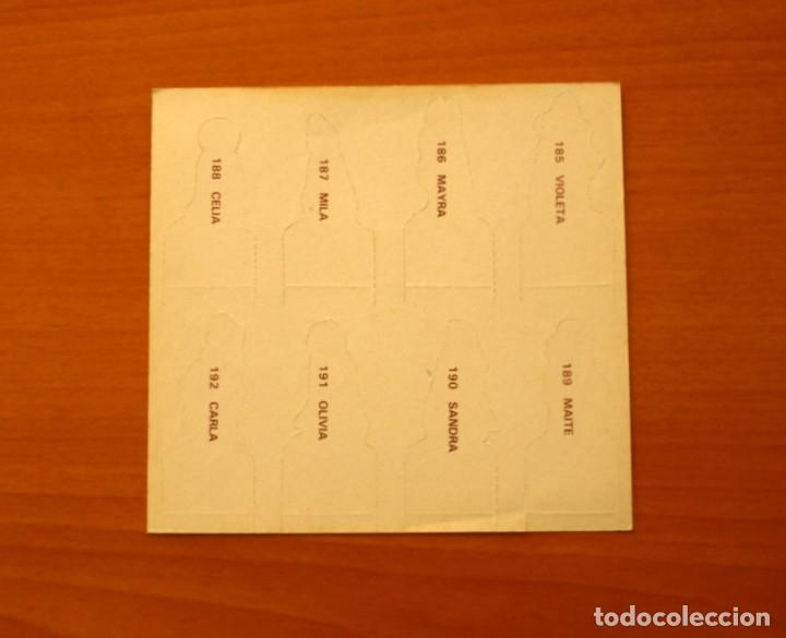 Coleccionismo Cromos antiguos: Vivimos y Jugamos - Lámina con 8 cromos troquelados - Editorial Maga 1981 - Foto 2 - 194578120