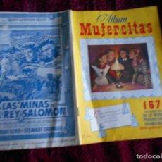 Coleccionismo Cromos antiguos: LOTE DE CROMOS DE MUJERCITAS Y PORTADAS DE ALBUM. Lote 194621451