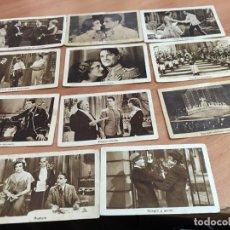 Coleccionismo Cromos antiguos: LOTE 11 CROMOS EL GRAN CHARCO (CHOCOLATES JUNCOSA) (CRIP6). Lote 194636687