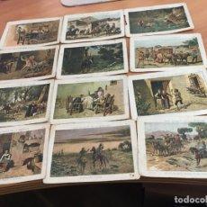 Coleccionismo Cromos antiguos: DON QUIJOTE DE LA MANCHA LOTE 33 CROMOS DIFERENTES (CRIP6). Lote 194638332