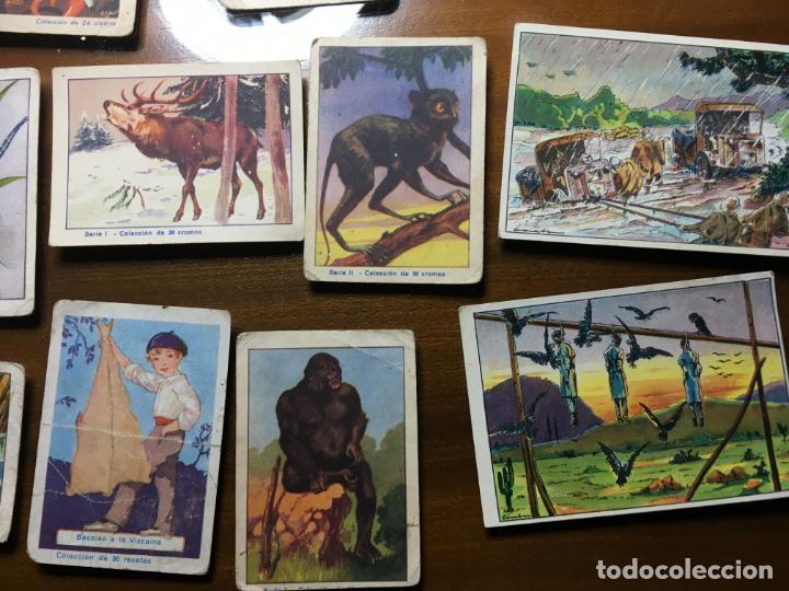 Coleccionismo Cromos antiguos: Lote 16 cromos chocolates Zuricalday,Bilbao.Chocolates Guillen, Bubí-Africa y Solsona, Vilr - Foto 2 - 194645920