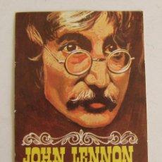 Coleccionismo Cromos antiguos: CROMO JOHN LENNON BEATLES COLECCIÓN TODO Nº 386 EDITORIAL BRUGUERA 1971. Lote 194660502