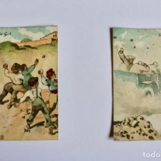 Coleccionismo Cromos antiguos: COLECCIÓN DE CROMOS DE CHOCOLATE AMATLLER. APEL•LES MESTRES, SÉRIE G. Lote 194693180