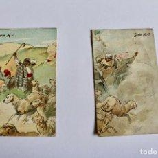 Coleccionismo Cromos antiguos: COLECCIÓN DE CROMOS DE CHOCOLATE AMATLLER. APEL•LES MESTRES, SÉRIE H. Lote 194693340