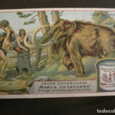 Coleccionismo Cromos antiguos: HABITACIONES LACUSTRES-CROMO ANTIGUO-PUBLICIDAD LECHE CONDENSADA LA LECHERA-VER FOTOS-(V-19.124). Lote 194735988