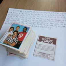 Coleccionismo Cromos antiguos: 132 CROMOS SUPER STARS , ESTE , SIN REPETIR , VER NUMEROS. Lote 194775231