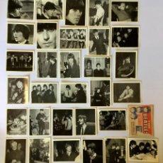 Coleccionismo Cromos antiguos: LOTE 31 CROMOS THE BEATLES + SOBRE – COLECCIÓN DE 96 CROMOS – BRUGUERA 1966. Lote 194870312