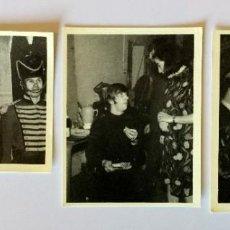 Coleccionismo Cromos antiguos: LOTE 3 CROMOS THE BEATLES – COLECCIÓN DE 96 CROMOS – BRUGUERA 1966. Lote 194871846