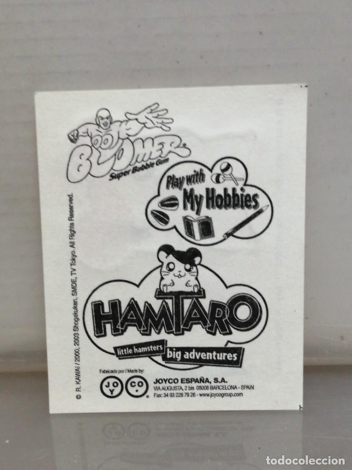 Coleccionismo Cromos antiguos: Colección 11 cromos pegatinas HAMTARO chicles BOOMER - Foto 4 - 194891857