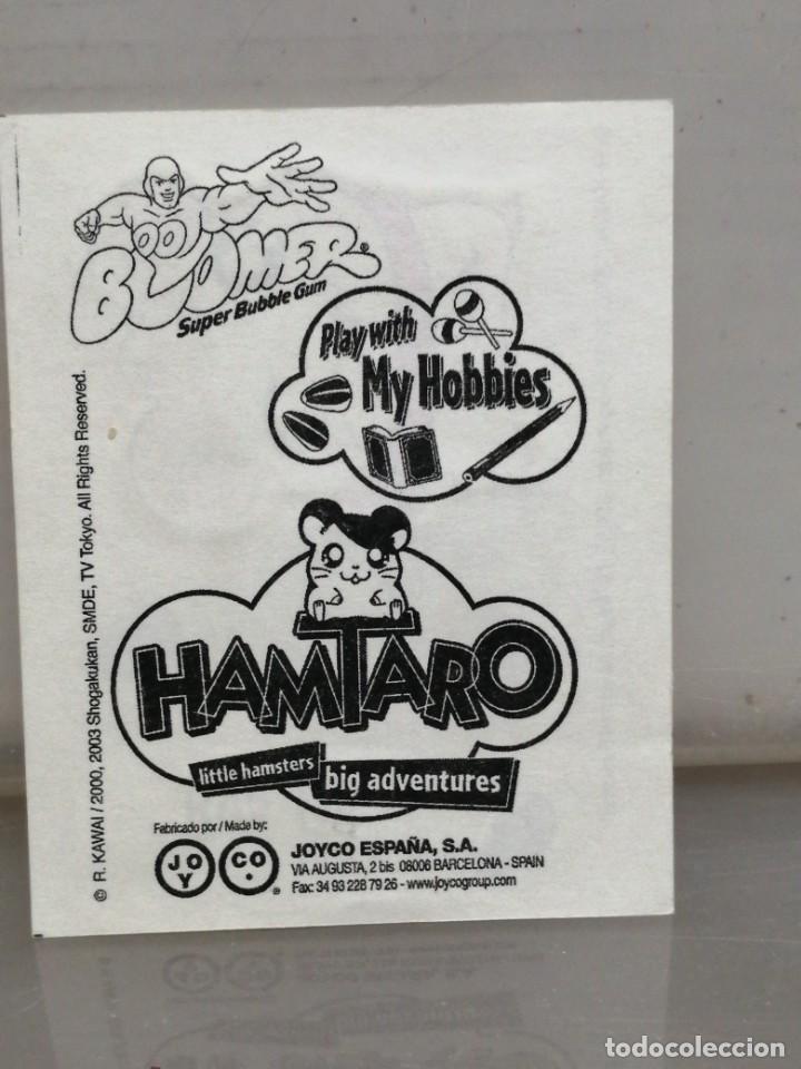 Coleccionismo Cromos antiguos: Colección 11 cromos pegatinas HAMTARO chicles BOOMER - Foto 20 - 194891857