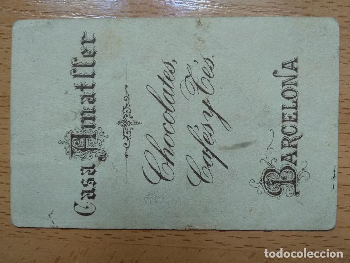 Coleccionismo Cromos antiguos: CROMO PUBLICIDAD CASA AMATLLER BARCELONA DE CHOCOLATES, CAFÉS Y TÉS. N, PINGÜINO. - Foto 2 - 194893858