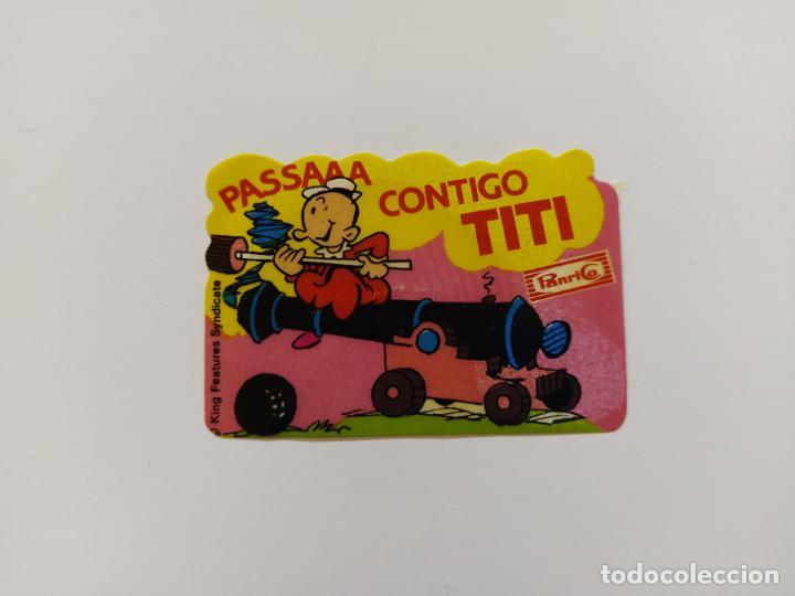Coleccionismo Cromos antiguos: POPEYE - LOTE DE 8 CROMOS DE PANRICO - CADA CROMO MIDE 5x7 CM-VER FOTOS-(V-19.126) - Foto 4 - 194895988