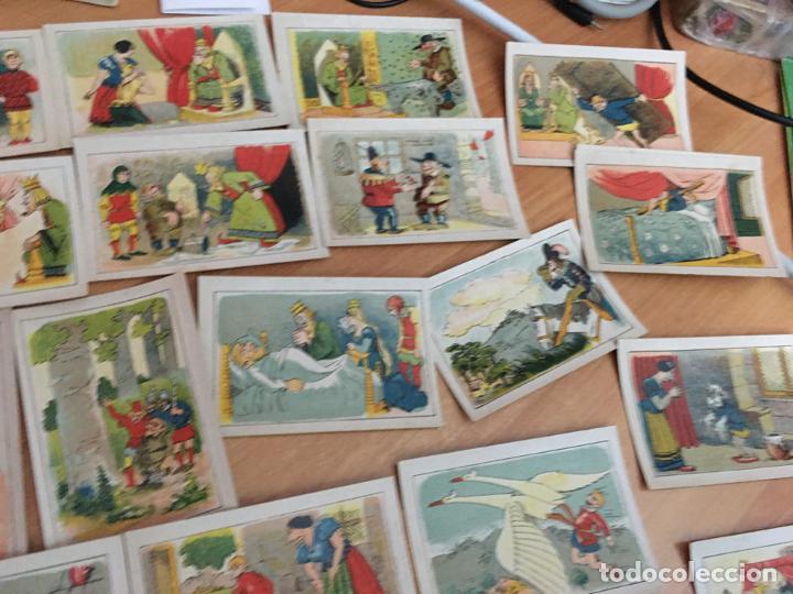 Coleccionismo Cromos antiguos: BERTOLDO, BERTOLDINO Y CACASENO LOTE CON 30 DE 36 CROMOS CHOCOLATES GUILLEN (CRIP6) - Foto 2 - 194897045