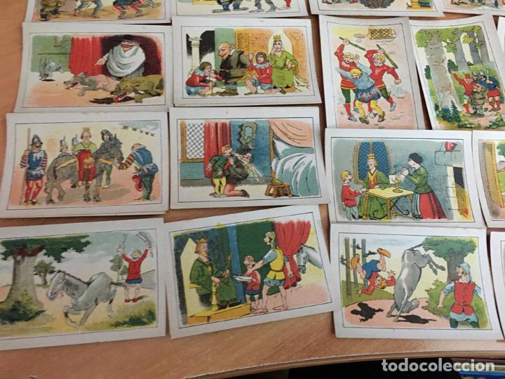 Coleccionismo Cromos antiguos: BERTOLDO, BERTOLDINO Y CACASENO LOTE CON 30 DE 36 CROMOS CHOCOLATES GUILLEN (CRIP6) - Foto 3 - 194897045