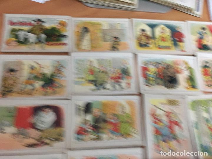 Coleccionismo Cromos antiguos: BERTOLDO, BERTOLDINO Y CACASENO LOTE CON 30 DE 36 CROMOS CHOCOLATES GUILLEN (CRIP6) - Foto 5 - 194897045