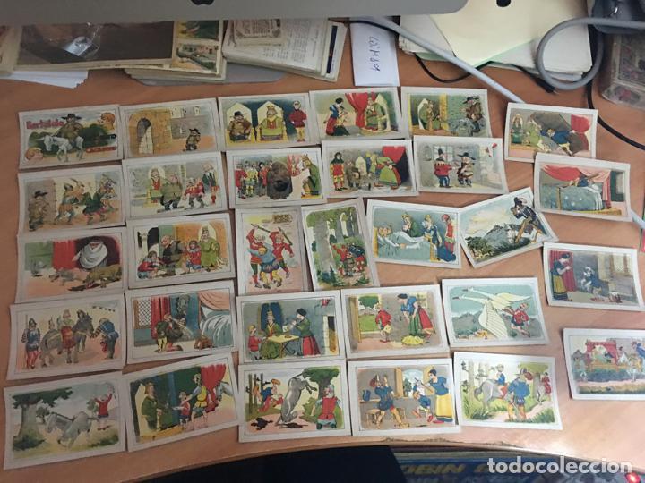 BERTOLDO, BERTOLDINO Y CACASENO LOTE CON 30 DE 36 CROMOS CHOCOLATES GUILLEN (CRIP6) (Coleccionismo - Cromos y Álbumes - Cromos Antiguos)