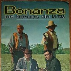 Coleccionismo Cromos antiguos: LOTE DE 10 CROMOS SELECCIONADOS DE BONANZA - LOS HÉROES DE LA TV - FHER. Lote 194904836