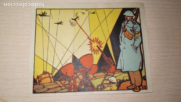 CROMO GUERRA .Nº 12 (Coleccionismo - Cromos y Álbumes - Cromos Antiguos)