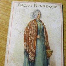 Coleccionismo Cromos antiguos: CROMO CACAO BENSDORP - TRAJES HOLANDESES Nº 49. Lote 195055053
