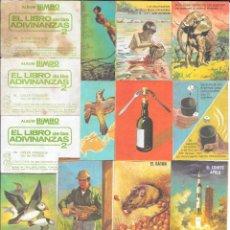 Coleccionismo Cromos antiguos: IÑI LOTE 802 CROMOS NUEVOS. EL LIBRO DE LAS ADIVINANZAS 2. BIMBO. A. GAMMA.. Lote 195058477